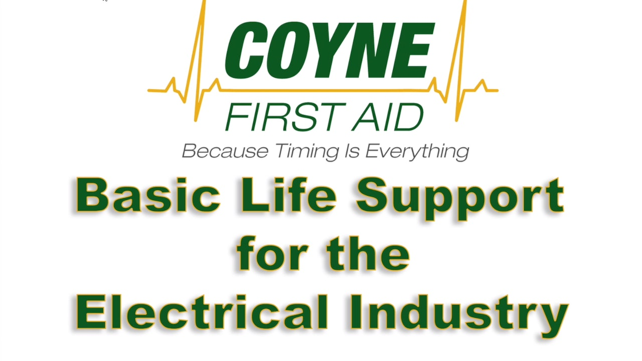 Basic Life Support for the Electrical Industry