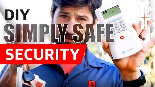 DIY SimpliSafe Home Security System
