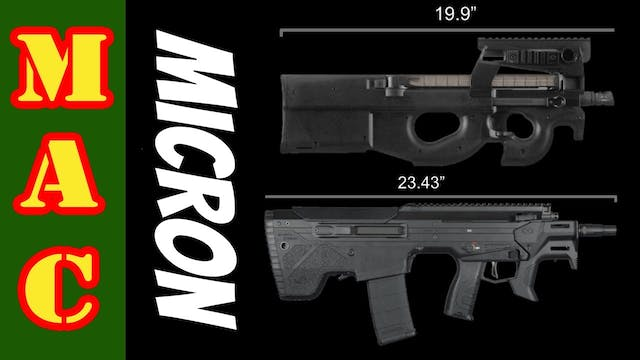 A 5.56 Rifle as small as a P90! Deser...
