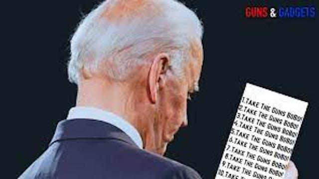 More Biden Gun Control and a Test for...