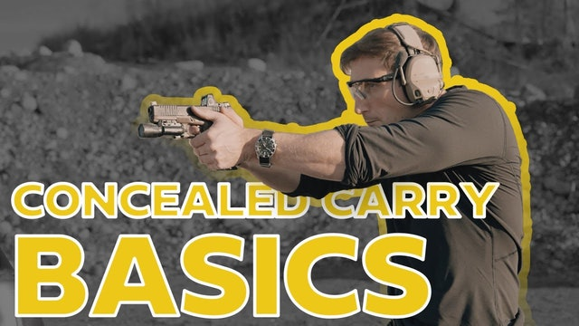 What do I conceal carry? Basics of Conceal Carry