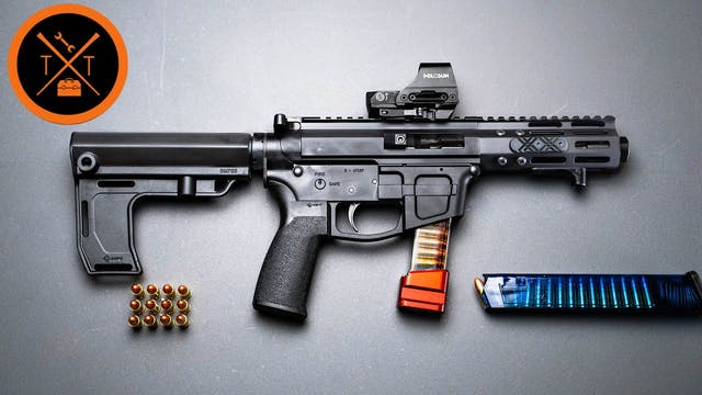 How is this 9mm AR Pistol SO CHEAP??