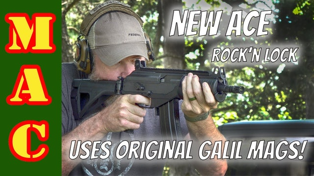 NEW Galil ACE that uses original Galil mags - Rock'n Lock!
