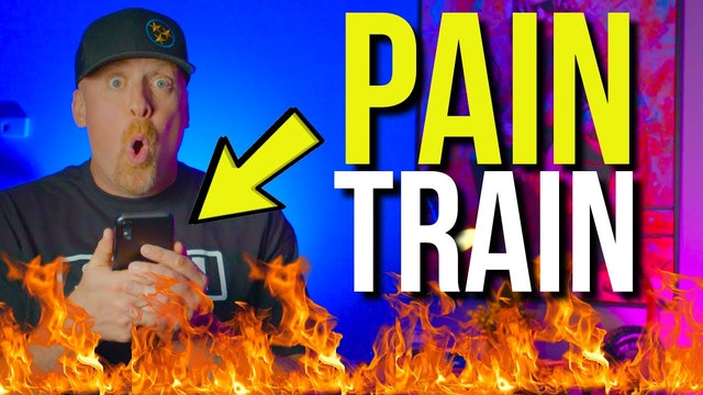 All aboard the PAIN TRAIN!! IT'S SPICY FRIDAY!!