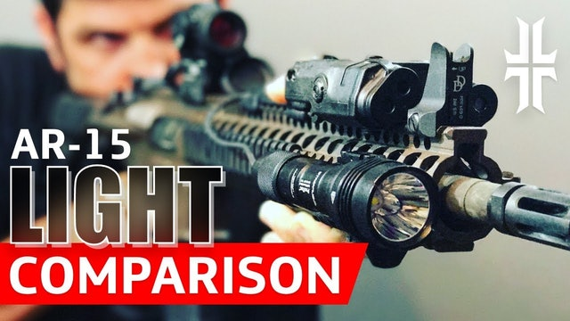 AR-15 Flashlight Comparison Streamlight vs. Surefire