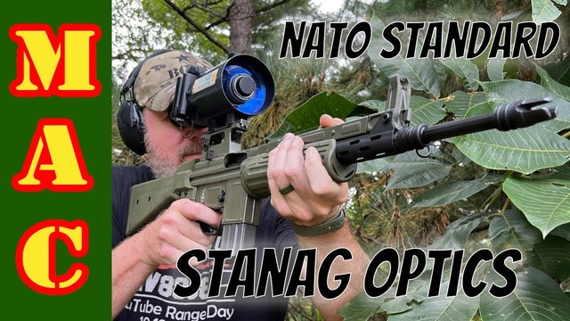 STANAG | What is that crazy scope and mount system?