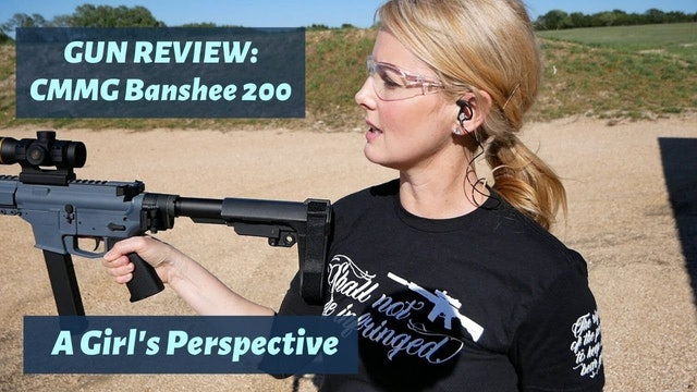 CMMG Banshee 200 Review (2020) - A girl's perspective...