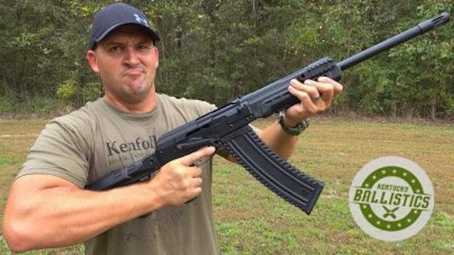 It's An AK-47...But BIGGER!!!