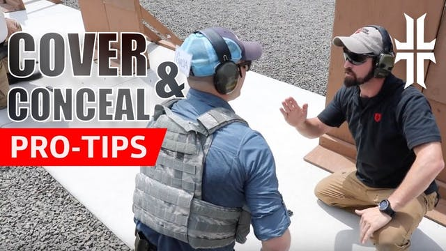 Pro Tips | Cover & Concealment