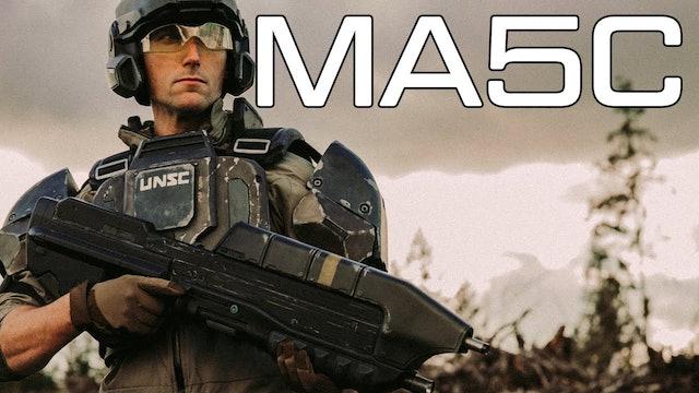 MA5C The Standard UNSC Rifle