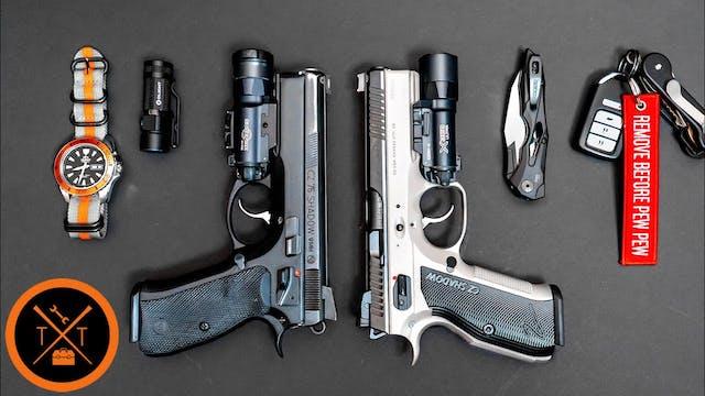 Everyday Carry Gun - CZ Shadow 2 vs S...