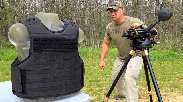 Gatling Gun vs Indestructible Body Ar...
