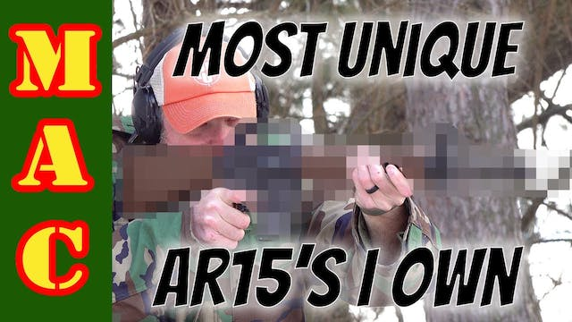 The Most Unusual and Unique AR15's I ...