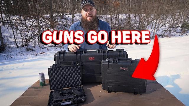 ACTUALLY GOOD Budget Gun Cases from Explorer Cases! - TGC Quarantine Gun Show!