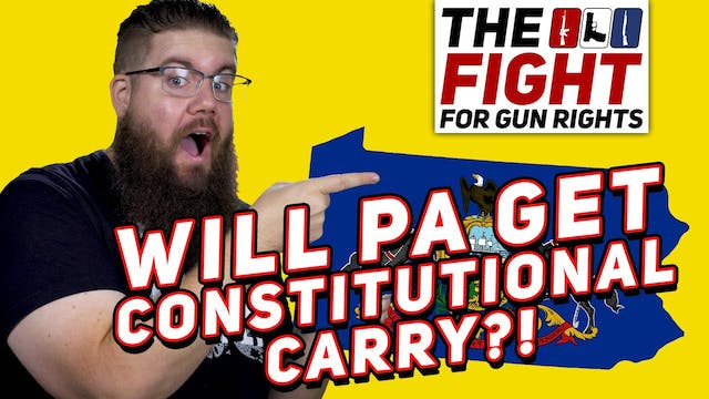 HEADS UP  PA Constitutional Carry Bil...