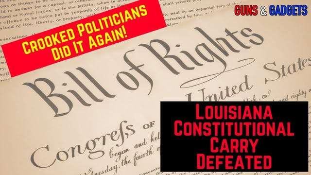 Constitutional Carry in Louisiana Def...