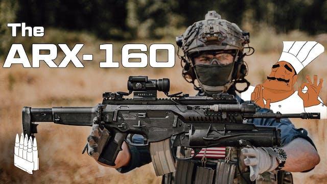 Italy's Service Rifle, ARX-160a very ...