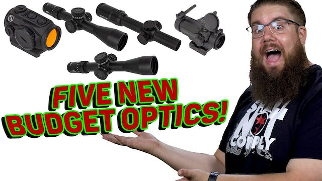 New Primary Arms Budget Optics & Red ...