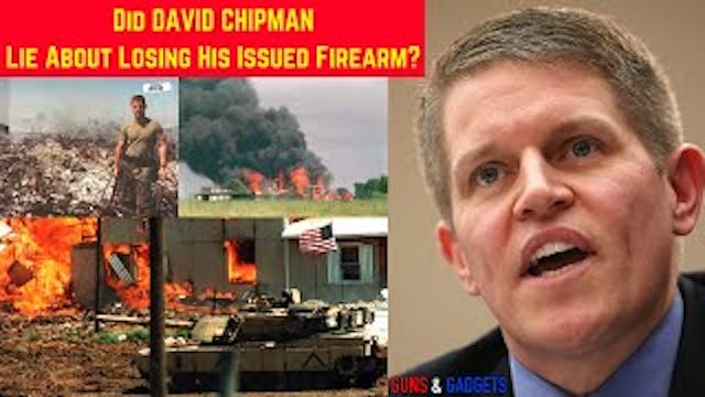 Did Chipman LIE About Losing Issued F...