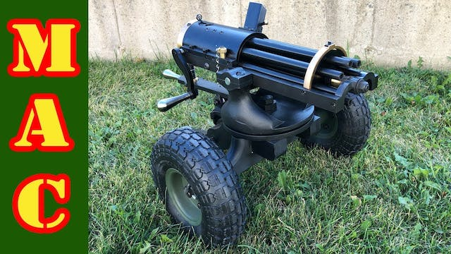 New 9mm Gatling Gun from Tippmann Arm...