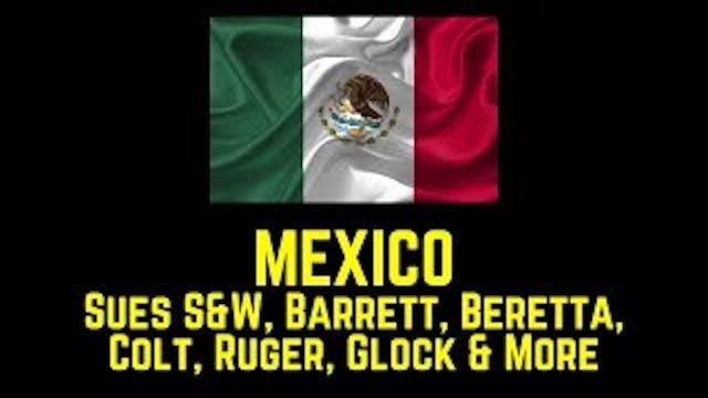 MEXICO Sues SW Barrett Beretta Colt R...