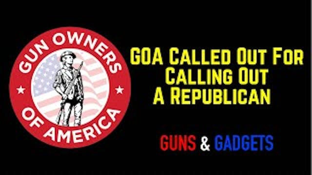 GOA Getting Dumped On By Pro-2A Group...