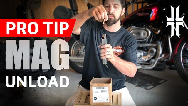 How to Quickly Unload AR mags
