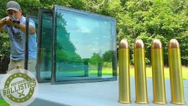 700 Nitro Express vs Bulletproof Glas...