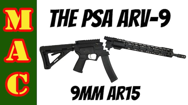4 Months Later - PSA ARV 9mm AR15 fixed?