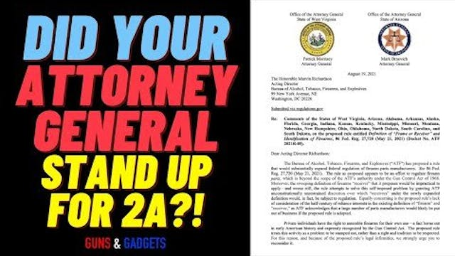 Did YOUR AG Stand For 2A?!