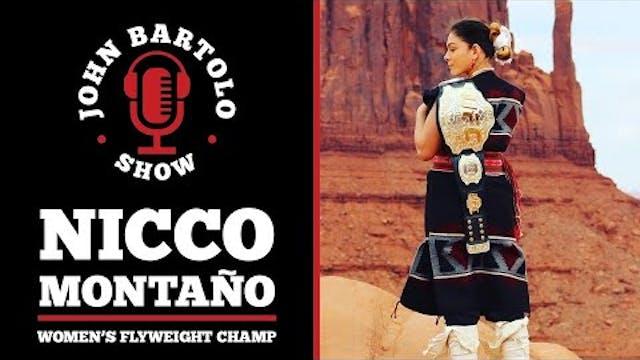 Nicco Montano - 1st Women's Flyweight...