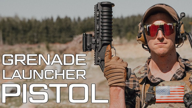 We use science on the Mini Grenade Launcher and shoot at random stuff