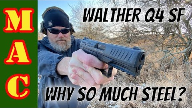 Walther steel frame Q4 SF_ An improvement or an awkward feature?
