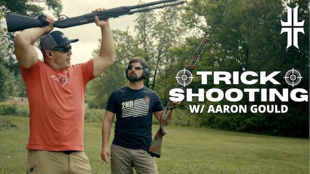How to do Shotgun TRICK SHOTS w Aaron Gould