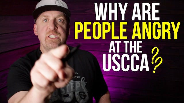 People got angry today at the USCCA. ...