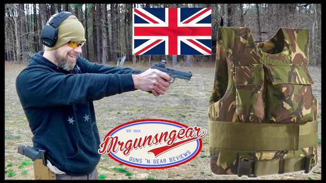 Surplus British Kevlar Armor Vest Test & Review