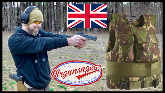 Surplus British Kevlar Armor Vest Tes...