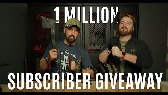 Winners Announced!! 1 Million Sub Giv...
