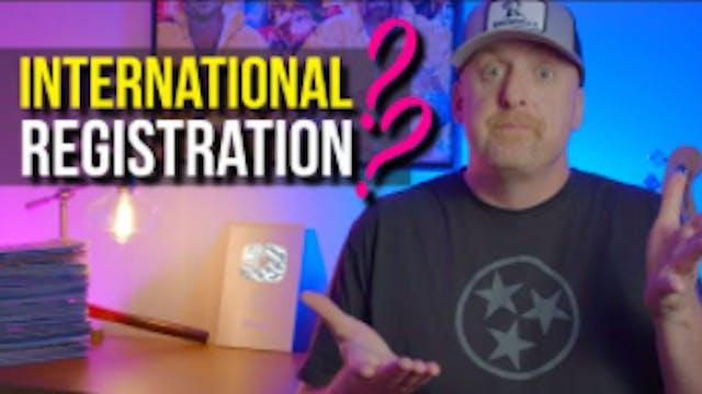 An International REGISTRATION_