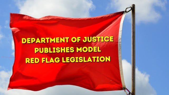Department of Justice Publishes Model...