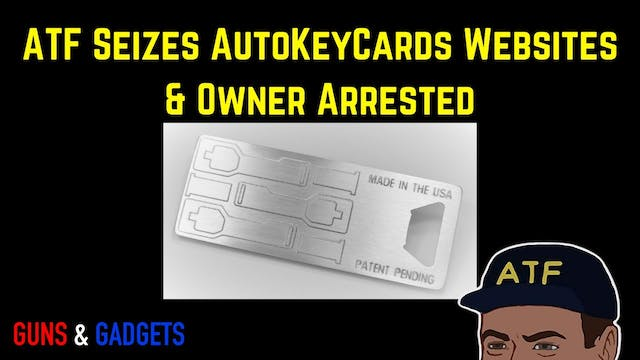 ATF Arrests Owner of AutoKeyCards.com