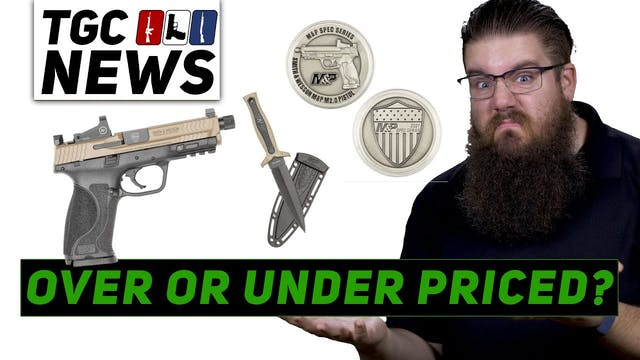 SW MP SPEC Series Gold Mag Release ST...