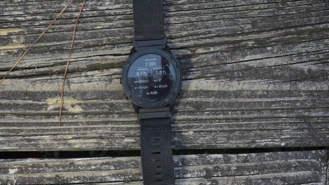 Garmin Tactix Delta Solar With Ballis...