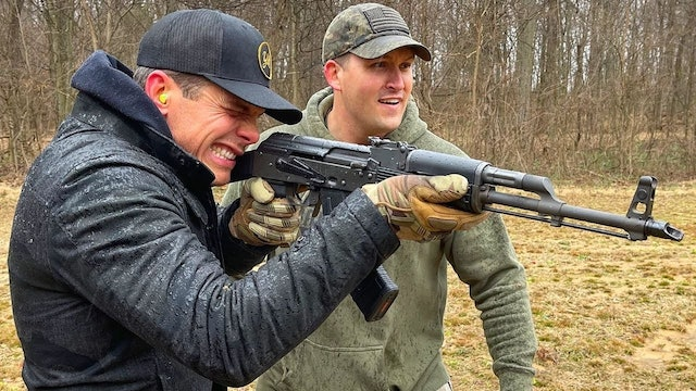 Granger Smith Goes Full Auto 🔥