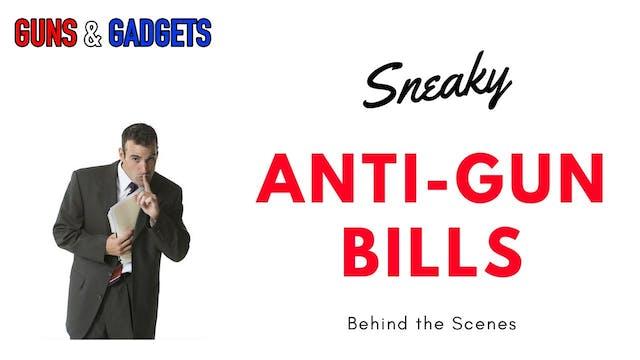 Anti-Gun Bills Sneaking In Behind The...