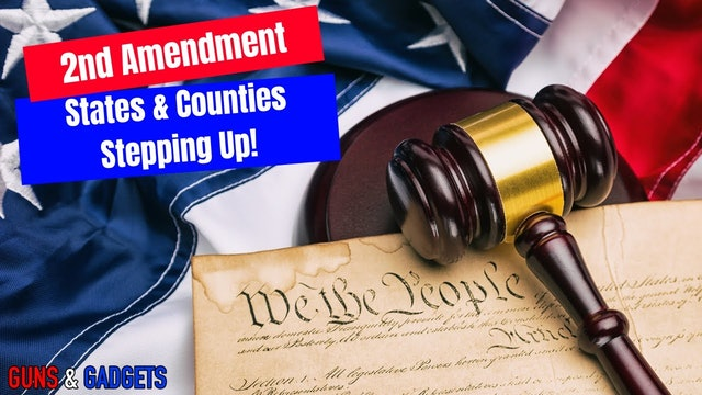 States Counties Standing Up To Biden Gun Control, A Message To Law Enforcement