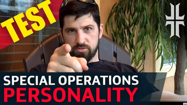 Special Operations PERSONALITY TEST