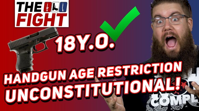 Judge Rules Handgun Age Restriction UNCONSTITUTIONAL  Fight for Gun Rights