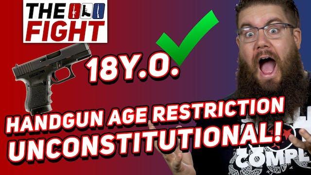 Judge Rules Handgun Age Restriction U...