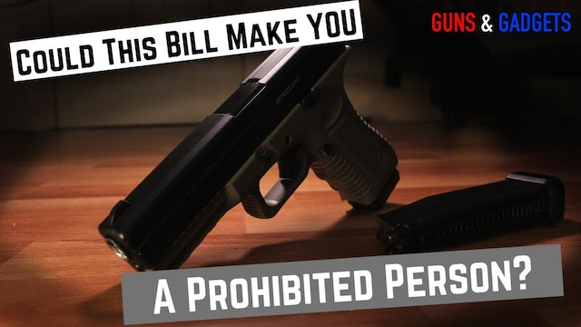HR882 Would Make Many More Prohibited Persons